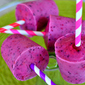 Greek Yogurt Berry Smoothie Pops