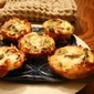 [The Recipe Redux ] Mini Quiche With Asparagus and Goat Cheese