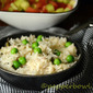 Green Peas Pulao, A Perfect Lunch Box Recipe