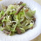 Easy Stir-Fried Leek with Beef