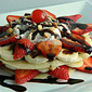 Banana Split Pancakes #LMDConnector
