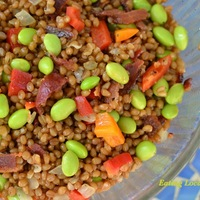 Bacon, Bell Pepper and Bean Salad
