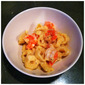 Tortellini with Shrimp and Lemon-Wine Sauce