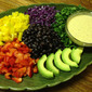 Black Bean Salad with Southwestern Ranch Style Dressing