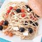 Warm Spaghetti Salad