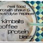 How to Replenish Your Energy After a Workout {Recipe: Kimball's Coffee Protein Blast + GIVEAWAY}