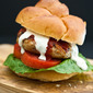 Sriracha Ranch Chicken Burgers