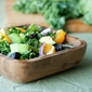 Making Friends with Salad: Shredded Kale and Orange Salad, plus a Cooking with CUTCO Giveaway