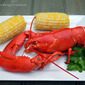 Boiled Lobster & Corn on the Cob