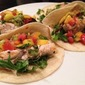 Grilled Swordfish Tacos with Mango Salsa
