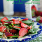 Salad Sundays: Strawberry Spinach Salad with a Simple Poppyseed Dressing + A Cook Book Giveaway!