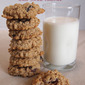 Whole Wheat Oatmeal Cookie Recipe with Dried Cherries