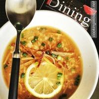 Arroz caldo, the Filipino-style congee