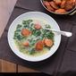 Caldo Verde (Portugese Kale and Sausage Soup)