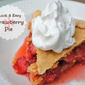The Easiest Strawberry Pie You'll Ever Make