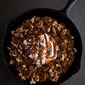 Skillet Apple Butter Bread Pudding