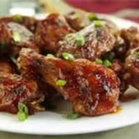 Hot Asian Buffalo Chicken Wings