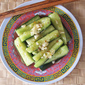 Cucumbers with Sesame Oil-Soy Dressing 凉拌黄瓜