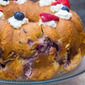 Strawberry Blueberry Stuffed Monkey Bread #SundaySupper