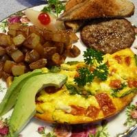 Las Vegas Recipe Guru Summerlin Tomato and Basil Frittata