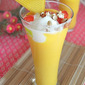 Mango mastani recipe -- Mango Milkshake with icecream -- Mango dessert recipes