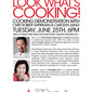 Join the Food Gal and Chef Robert Sapirman at Macy's Valley Fair