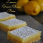 Cake mix lemon cream cheese bars