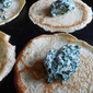 spinach and ricotta crespelle: savoury crêpes Italian style
