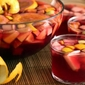 The sangria, perfect to cool this summer.