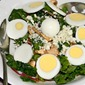 Insalata Tiepida di Spinaci (Warm Spinach Salad Italian Style)