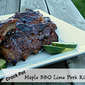 Crock Pot Maple BBQ Lime Pork Ribs