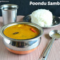 Poondu (Garlic) Sambar Recipe