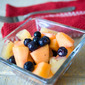 Blueberry, Cantaloupe and Pineapple Salad #TheSaladBar