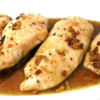 Skinny Garlic Chicken, Amazingly Easy and Delicious