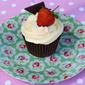 Strawberry and Chocolate Cupcakes: Recipe