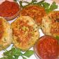 Shrimp-and-Crab Cakes with Sweet-and-Spicy Ketchup