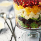 Layered Mexican Christmas Eve Salad with Smoked Beets #SRC