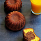 Eggless Butterless Mini Mango Chocolate Marble Cake~~ Home Baker's Challenge#2