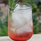 Strawberry Rosemary White Wine Sangria