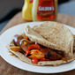 Go-To Summer Meal: Grilled Italian Chicken Sausage and Pepper Pitas