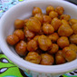 Toddler Tuesdays: Roasted Chick Peas