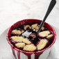 Blackberry Cobbler with Bisquick