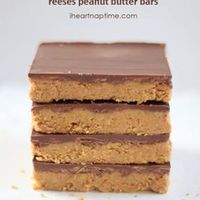 Easy No Bake Peanut Butter Bars