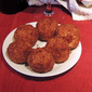Roman Rice Balls with Mozzarella