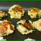 My Meatless Mondays - Mashed Potato-Spinach Patties