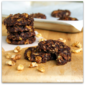 No-Bake Chocolate Coconut Walnut Cookies