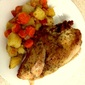 Rainy Day Meal: Baked Chicken Breast, Carrots and Potatoes