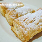 Making Banana Chocolate Cheese Puff Pastry