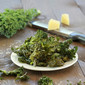 Garlic Parmesan Kale Chips (on the grill)
