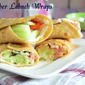 Cucumber Labneh Wrap Recipe| Easy Breakfast Wrap Recipes